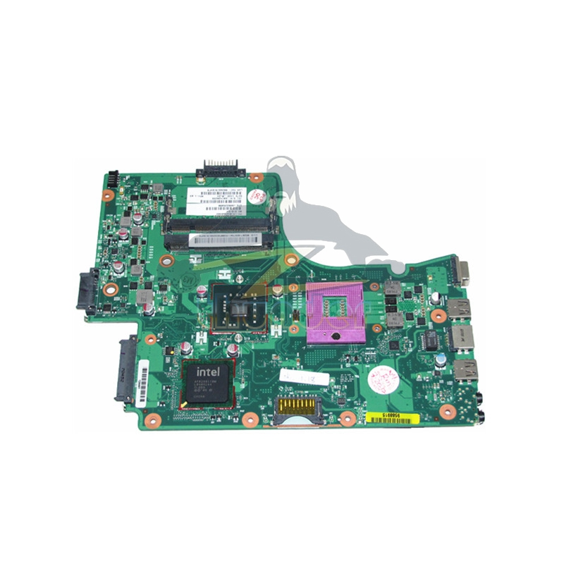V000225080 1310A2368320 6050A2355301-MB-A03 for toshiba satellite C655 laptop motherboard GL40 DDR2 for toshiba satellite l655 l650 laptop motherboard v000218010 6050a2332401 mb a03 1310a2332401