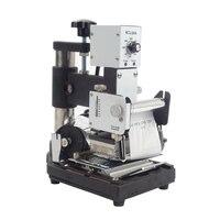 1pc Hot Stamping Machine for PVC Card Member Club Hot Foil Stamping Bronzing Machine WTJ 90AS