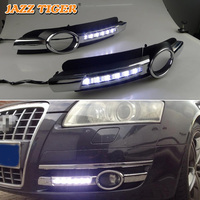 For Audi A6 C6 2005 2006 2007 2008 No error Daytime Running Light LED DRL Fog Lamp Driving Lamp Car Styling