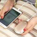 Bestoss bolso mão mais quente banco de potência portátil 5000 mah recarregável carregador de bateria para lenovo meizu usb aquecedor elétrico ao ar livre