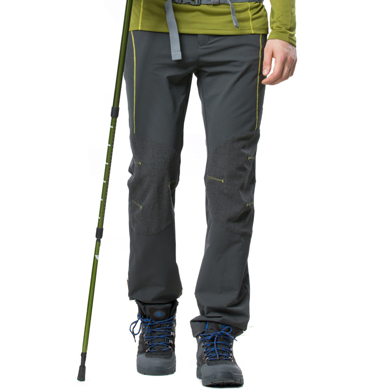 TECTOP PW5113 Spring and Summer Outdoor Quick Dry Sport Pants, Solid Elastic Polyester Men Pants