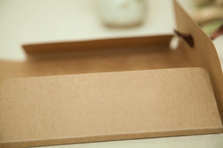 Nieuwe 24 * 18 * 0.7 cm 3 Kleur Envelop Kraftpapier Tassen Diy - Home opslag en organisatie - Foto 4