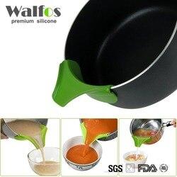 WALFOS silikonowy lejek do zupy przyrząd kuchenny  narzędzie do gotowania z deflektorem wody
