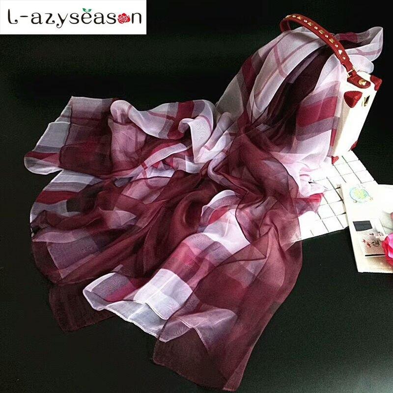 Newest Stole Spring Autumn Women Scarves Imitated Silk Fabric Female bandana Elegant light Scarf Shawl Sunscreen hijab Wraps