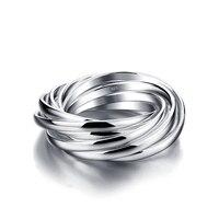 Moda euramerican estilo anel de prata esterlina. As Mulheres nove anel é sólido 925 anel de prata esterlina. índice de Charme dedo ring. jewelry