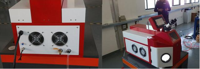 Factory direct sale dentures golf head spot welding machine 200W jewelry welding machine