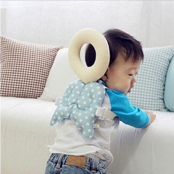 Baby Head protection pad Toddler headrest pillow baby neck Cute wings nursing drop resistance cushion baby pillow head protection pad toddler headrest pillow baby neck cute wing nursing drop resistance cushion baby protect cushion