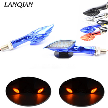 Motorcycle Turn Signal Indicators Light Universal Blinker Lamp For Kawasaki Zephyr 750 ZX636R z900 z300