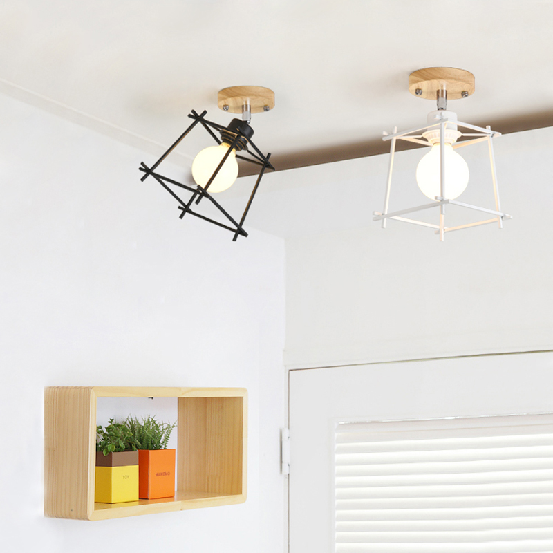 Led ceiling lights room bedroom lamp Nordic living room corridor aisle ceiling lamp balcony vestibule entrance hall LED lights bright colorful led lamp installed inside the entrance hall light corridor lamp ceiling lamp lamp stunning