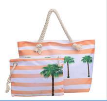 цены 2018New Summer Women Canvas bohemian style Landscape Shoulder Beach Bag Female Casual Tote Shopping Big Bag floral Messenger Bag