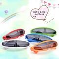 2016 High Quality Fishtail Children's Glasses Cool Children Sunglasses UV400 Sun Glasses For Kids Boys Girls Goggles Fashion