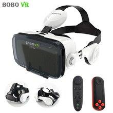 Xiaozhai BOBOVR Z4 Pro Versión De Cuero 3D Cartón VR Gafas de Realidad Virtual Vrbox + Auriculares Estéreo de Auriculares para 4-6.0 ón'