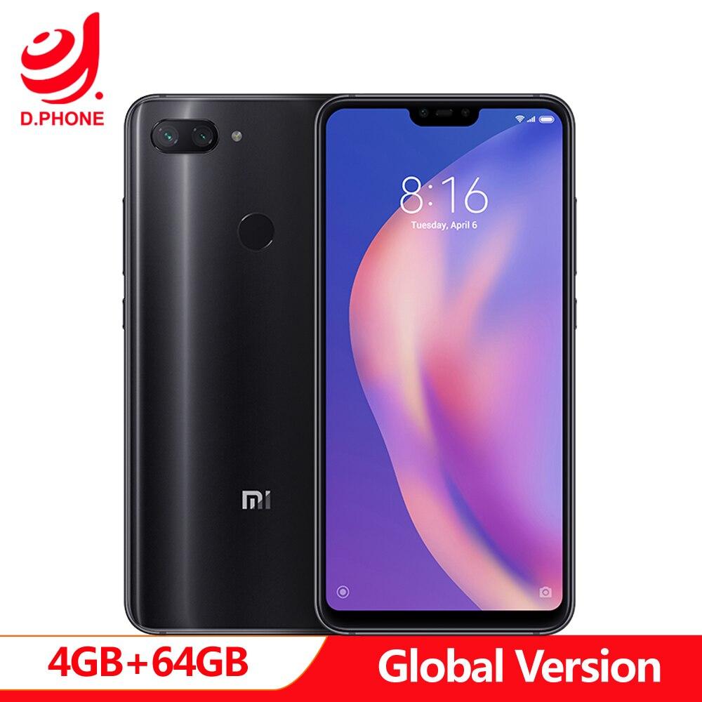 Best Global Version Phone Xiaomi Mi 8 Lite 4GB RAM 64GB