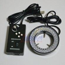 Новый яркий регулируемый 64 стерео микроскоп FYSCOPE светодиодный кольцевой светильник осветитель с адаптером 4 зоны управления