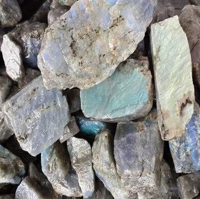 500g naturel labradorite QUARTZ cristal brut gravier pierre originale vente en gros et au détail - 2