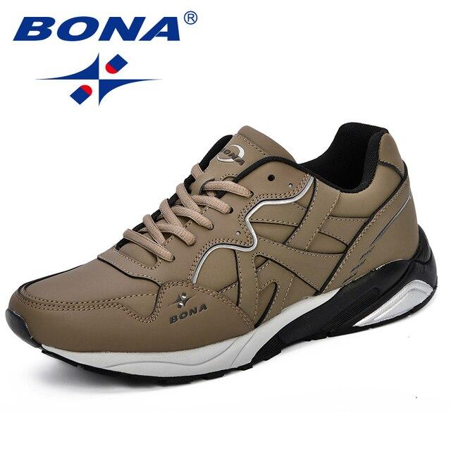 BONA-New-Classics-Style-Men-Tennis-Shoes-Lace-Up-Men-Sport-Shoes-Quality-Comfortable-Non-Slip