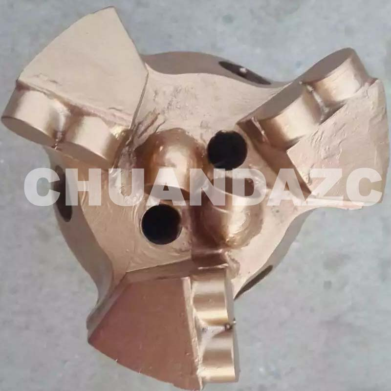 HOT sale Best PDC cutter bit 93mm PDC drag bit for water drilling hot sale best pdc cutter bit 93mm pdc drag bit for water drilling