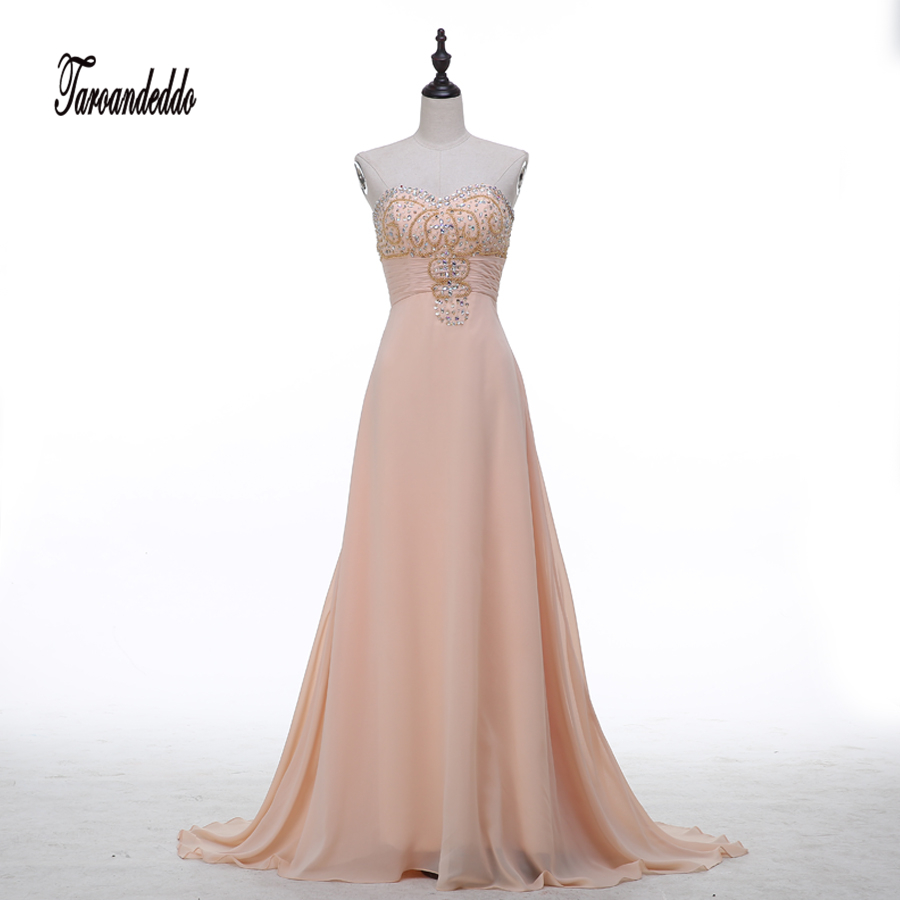 Online buy wholesale champagne chiffon bridesmaid dress from china strapless sweetheart neckline a line champagne chiffon beading bridesmaid dresses long party dresses vestidos de ombrellifo Choice Image
