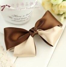 Freeshipping! NEW high quality ribbon bow elastic Hair Band / Hair ties / Hair Accessories/korean style/wholesale