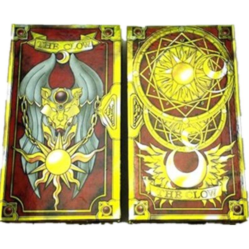 Japonais chaud Anime 56 pièces Cardcaptor Sakura magique Clow cartes ensemble avec or Clow livre anniversaire cadeau jouet Collection - 5