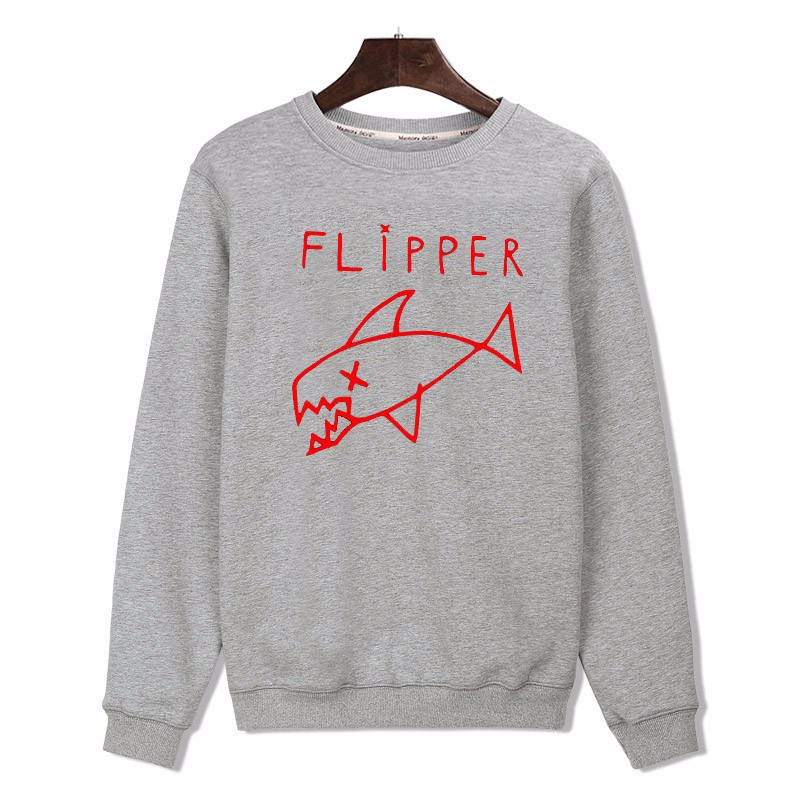HTB1eQpKPpXXXXcEapXXq6xXFXXXc - Cartoon Flipper Fish Sweatshirt PTC 82