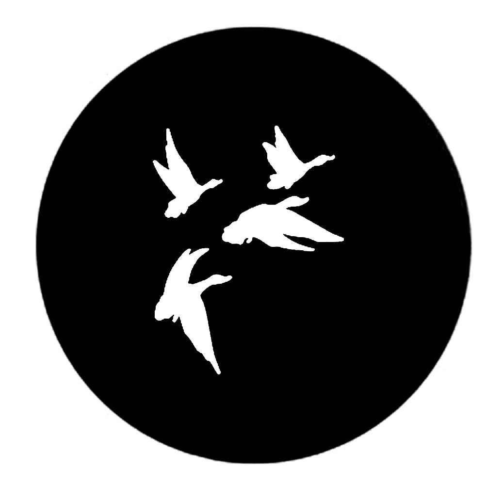 15cm 15cm Duck Hunting Trailer Spare Tire Cover Oem Vinyl Decals Car Sticker Black Silver S6 3334 Car Sticker Stickers Blackcar Decal Sticker Aliexpress [ 1000 x 1000 Pixel ]