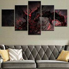 DOTA 2 Game 5 Piece Painting Canvas Wall Art HD Print Decorative Picture Home Living Room Printed Poster