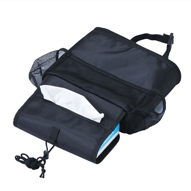 Selling ! New Style Warm Rear Seat Code Holder Car Organizer Bag Baby Kick Mat Tissue Box Cover Travel Bag hanger deck Barro