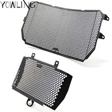 Motorcycle Covers MT 10 logo 100% Brand New High Quality Aluminum Grille Radiator Shield for YAMAHA MT10 MT-10 2016-2017