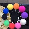 2017 wired 3.5mm música esponja balão mini speaker bonito portátil speaker para telefones celulares iphone samsung mp3/mp4 players