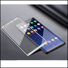 5PCS/LOT Case Friendly Tempered Glass For Samsung Galaxy Note 8 3D Curved Screen Protector Protective Film