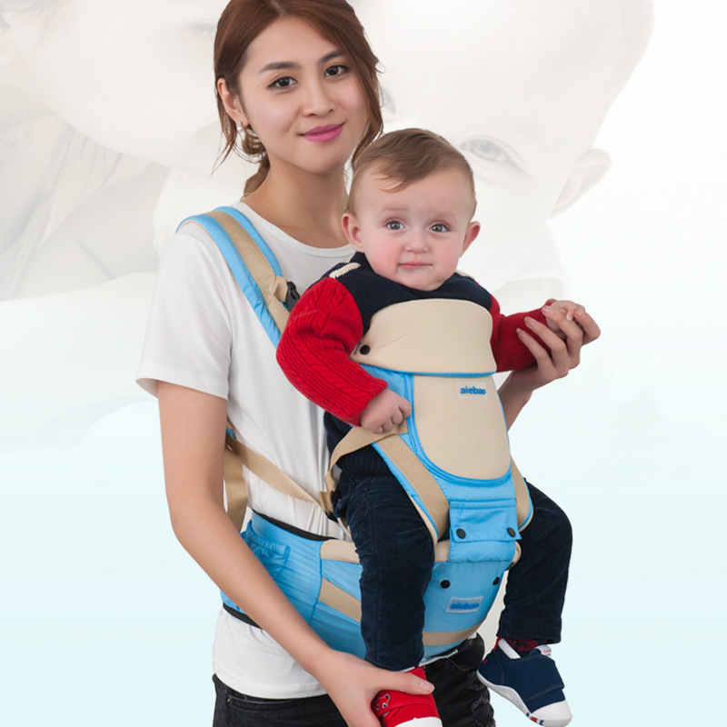 0-24 Months Ergonomic Baby Carrier Infant Baby Hipseat Sling Front Facing Kangaroo Baby