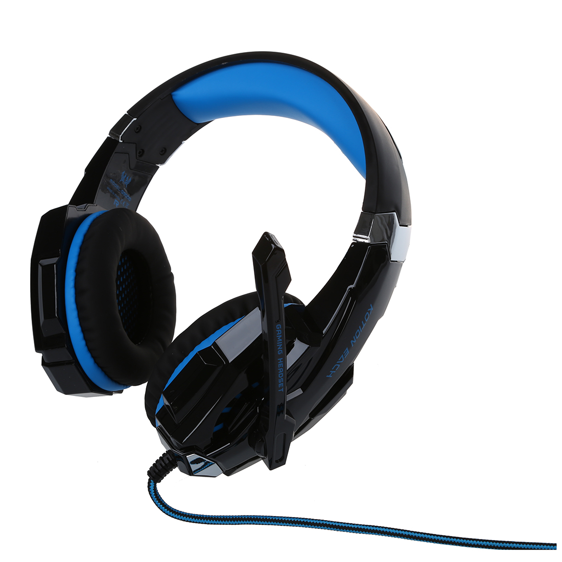 KOTION EACH G9000 Gaming Headset for Play Station 4 Tablet PC iPhone 6 / 6s / 6 Plus / 5s / 5c / 5 Mobilephones, 3.5 mm headphon