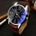 Relojes Hombres de Lujo Superior Marca YAZOLE Moda Azul de Cristal de Cuarzo Unisex Reloj de Las Mujeres reloj de Pulsera relogio masculino Casual de Negocios