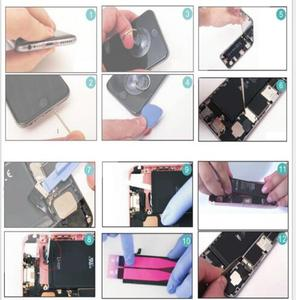 Image 5 - New large capacity 4800MA lithium battery for Apple iPhone 6S 6 7 5S 5 battery replacement built in phone battery + free tools