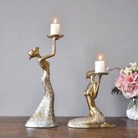 2 шт. Ретро Красота свеча смолы ремесла в западном стиле Еда мягкий наряд домашнего интерьера Свадебные украшения