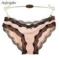 2016 bragas femeninas de moda sexy llena del cordón del cordón del color de neón más el tamaño de verano sexy opacidad underwear briefs de señora