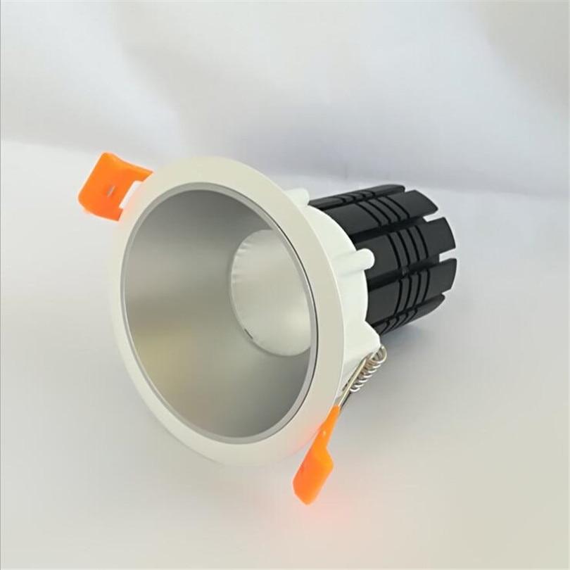 Затемнения 12 Вт 15 Вт светодиодное освещение AC85-265V светодиодный светильник Теплый Холодный белый светодиодный встраиваемый потолочный светильник CE& ROHS