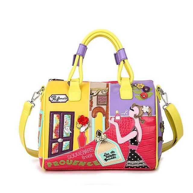 1c6d4cbc4f49 2018 Наивысшее качество Для женщин сумки Сумка Braccialini сумка мешок  основной borse di Marca Bolsa feminina