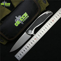 Зеленый шип 95 Флиппер складной нож M390 лезвие TC4 Титан CF 3D ручка Открытый Отдых охотничий Карманный фрукты Ножи EDC инструменты