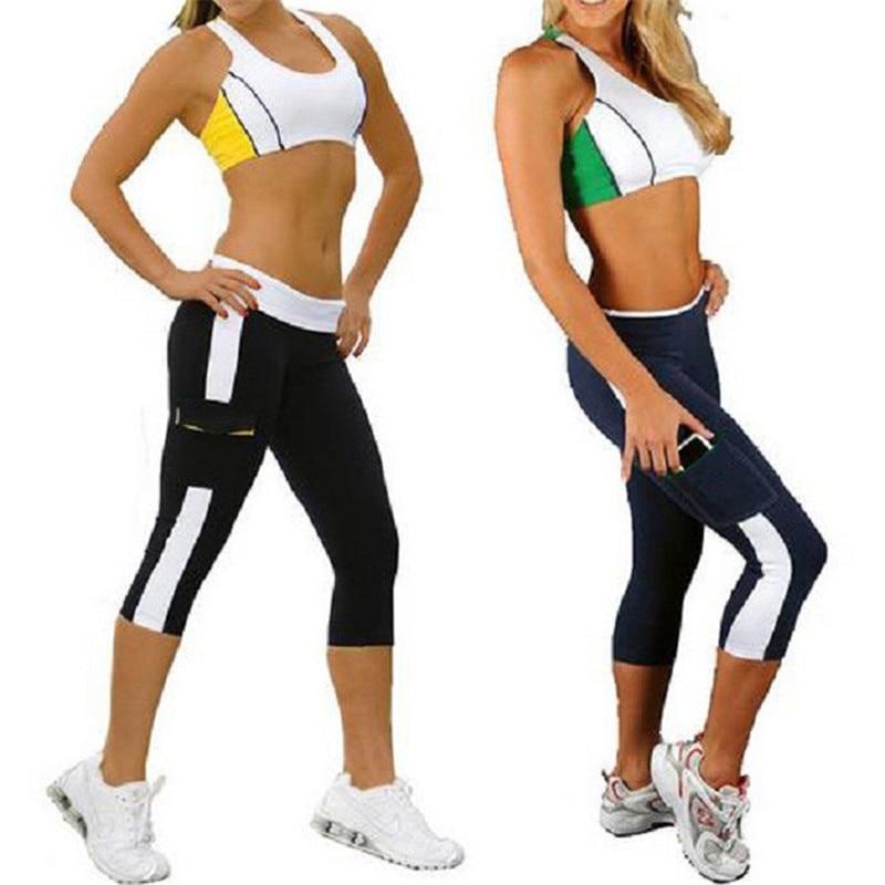 Women/'s Slim Fitness Push-up Elastic Sports Yoga Pants Workout Gym Leggings CB