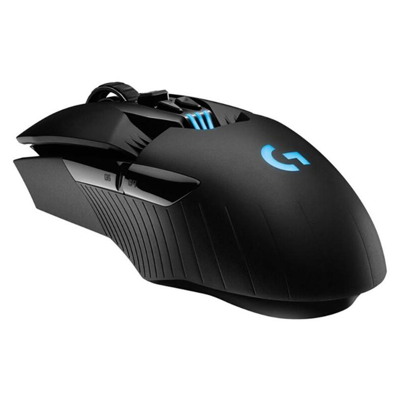 Logitech G903 souris de jeu LIGHTSPEED POWERPLAY souris de jeu de charge sans fil 11 boutons 12000 DPI deux mains souris pour PC Gamer