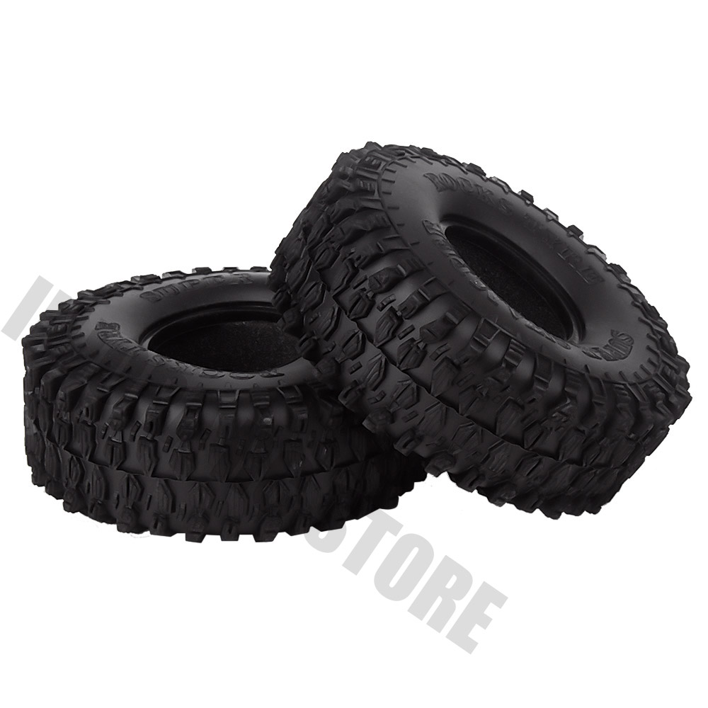 """Image 4 - 4PCS/Set 120MM 1.9"""" Rubber Wheel Tires 1/10 RC Crawler Car for Traxxas TRX 4 Axial SCX10 90047 D90 D110 TF2-in Parts & Accessories from Toys & Hobbies"""
