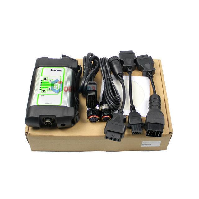 Newest For Volvo 88890300 Vocom Interface Truck Diagnostic Tool For UD/Mack/Volvo Vocom 88890300 Online Update Free Ship