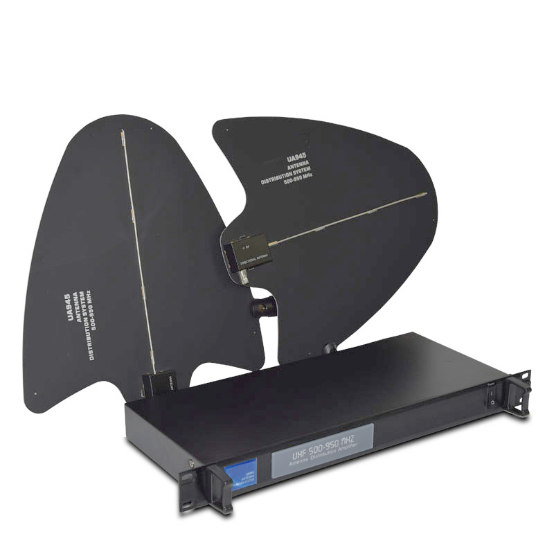 UA945 4 Channel Antenna Distributor 500-950MHz Frequency For Wireless Microphone extend 400Meters Directional Antenna ambresh prabhakar ambalgi compact microstrip antenna for wireless applications