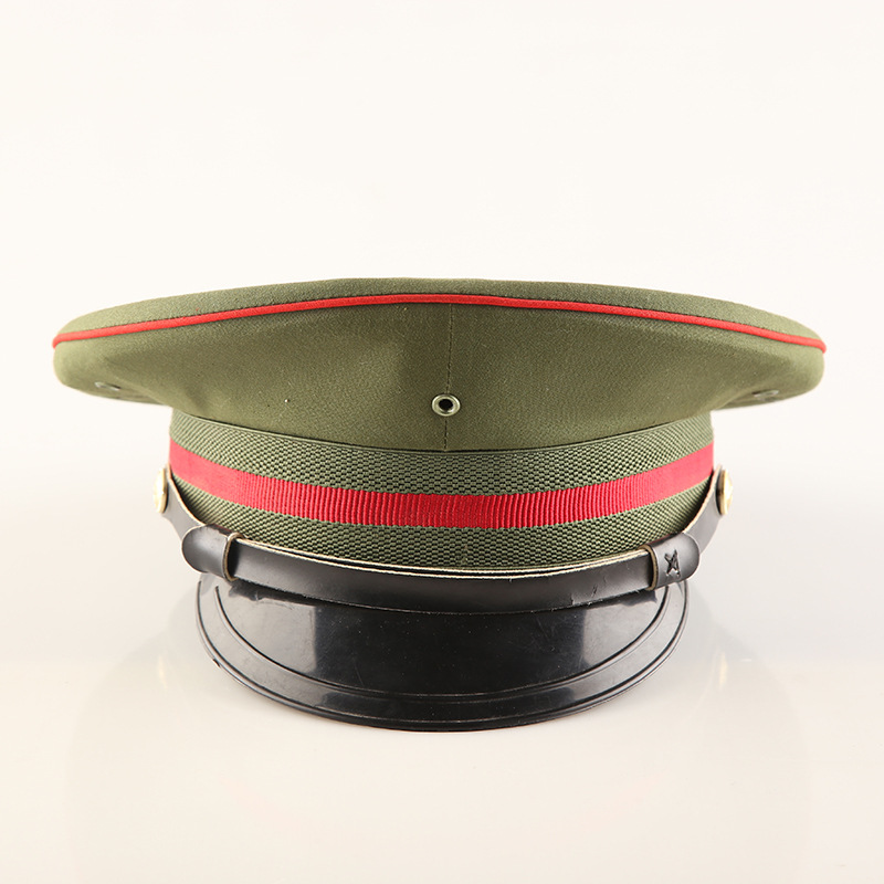 b026a4b2 Unisex Army Military Cap Flat Top Hat Police Hat -in Holidays Costumes from  Novelty & Special Use on Aliexpress.com | Alibaba Group