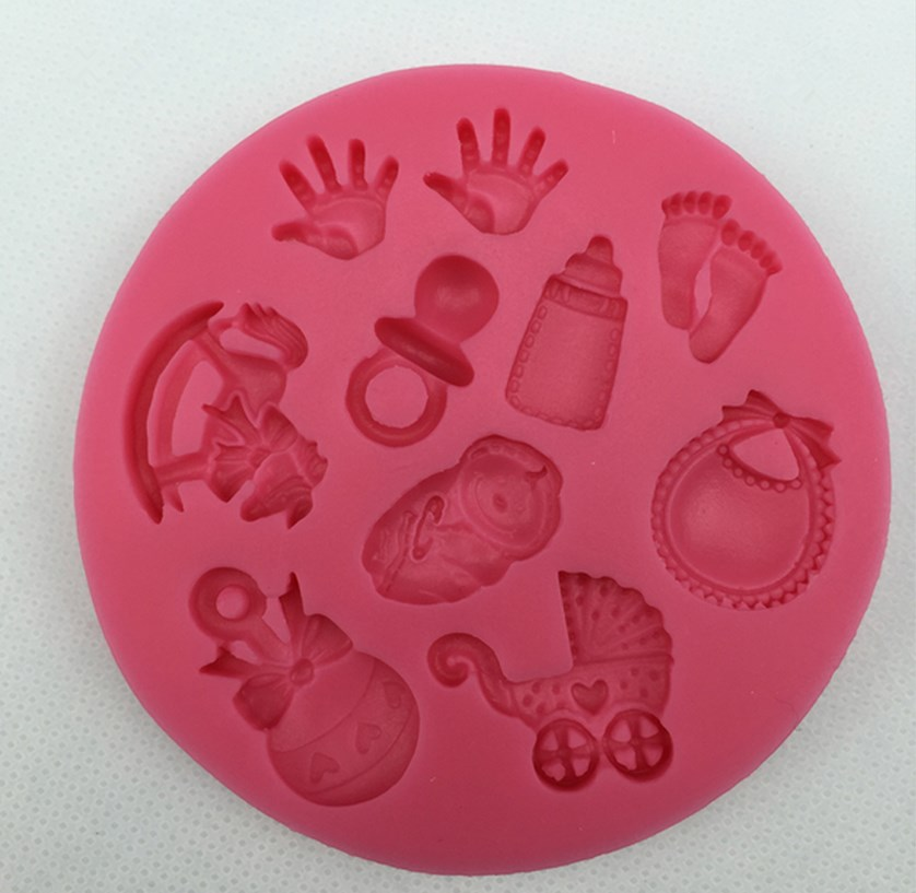 New Arrival Healthy Silicone Mold Fondant Cake Chocolate Tool Baking for Kitchen Accessor BB
