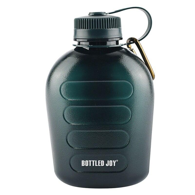 bottled joy 1L water bottle bidon Military Canteen Water Bottle for Outdoor Recreation drinking bottle 1000ml