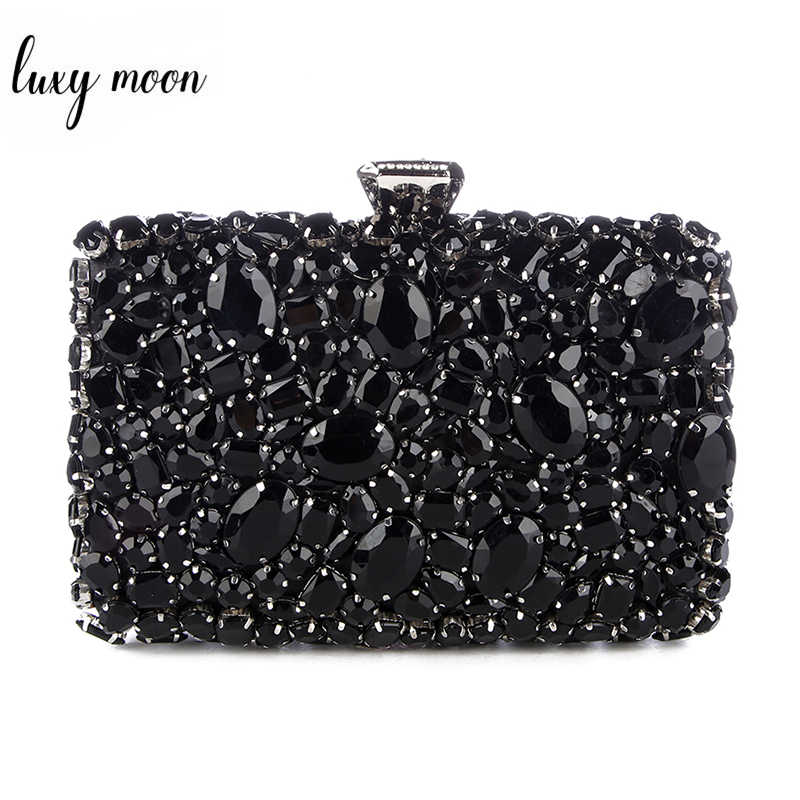 964439150fc Detail Feedback Questions about Crystal Evening Bag Beaded Day ...