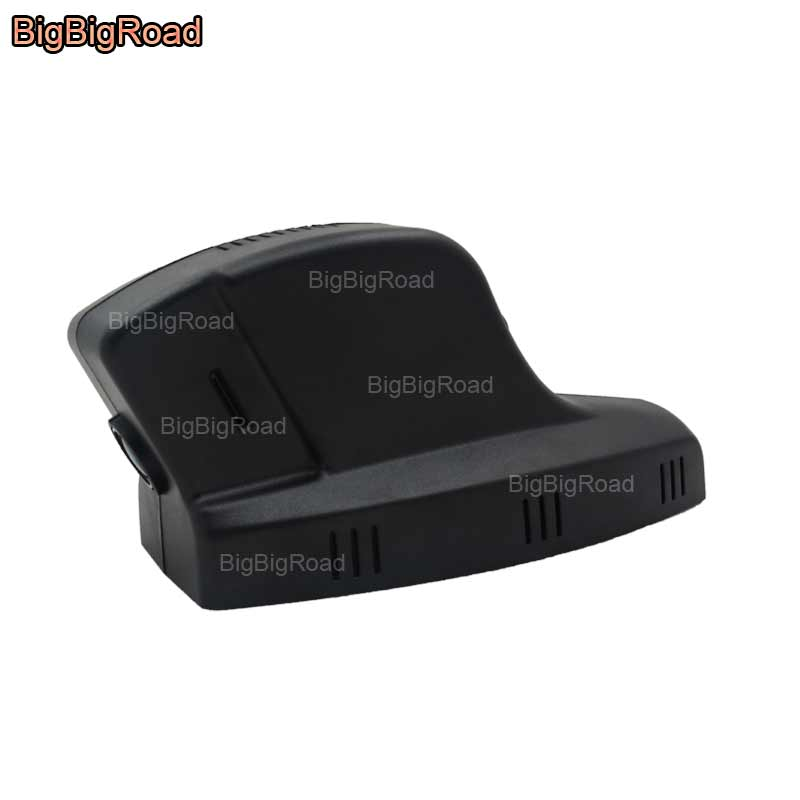 BigBigRoad For BMW X1 X5 X6 / 3 5 7 Series / e46 318i / X3 e83 Car wifi DVR Video Recorder Novatek 96655 Car black box dash cam car dvr registrator dash cam novatek 96655 sony imx322 wifi dvr cam for bmw x3 e83 f25 x1 e84 3 series e46 e90 e91 e92